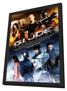 G.I. Joe: Retaliation - 11 x 17 Movie Poster - Style C - in Deluxe Wood Frame
