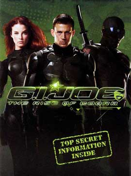 G.I. Joe: Rise of Cobra - 11 x 17 Movie Poster - Style F