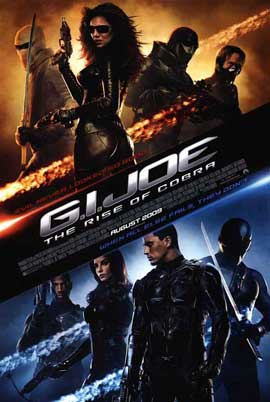 G.I. Joe: Rise of Cobra - 27 x 40 Movie Poster - Style G