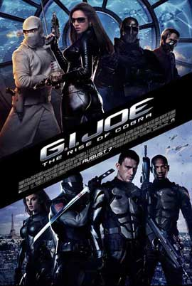 G.I. Joe: Rise of Cobra - 11 x 17 Movie Poster - Style J