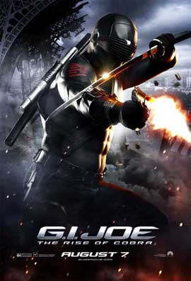 G.I. Joe: Rise of Cobra - 11 x 17 Movie Poster - Style M