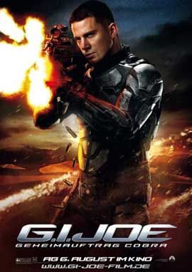 G.I. Joe: Rise of Cobra - 11 x 17 Movie Poster - German Style E