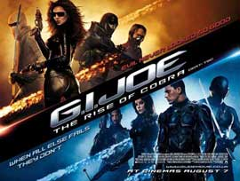 G.I. Joe: Rise of Cobra - 11 x 17 Movie Poster - Style S