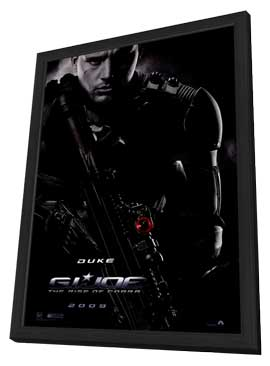 G.I. Joe: Rise of Cobra - 27 x 40 Movie Poster - Style B - in Deluxe Wood Frame