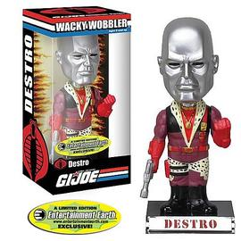 G.I. Joe: Rise of Cobra - Pimp Daddy Destro Bobble Head - EE Exclusive