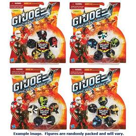 G.I. Joe: Rise of Cobra - Micro Force Starter Packs Series 1 Wave 1 4-Pack