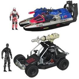 G.I. Joe: Rise of Cobra - Retaliation Bravo Vehicles Wave 1