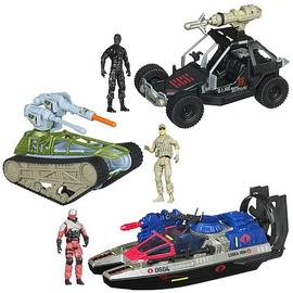 G.I. Joe: Rise of Cobra - Retaliation Bravo Vehicles Wave 2