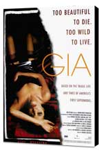 Gia - 27 x 40 Movie Poster - Style A - Museum Wrapped Canvas