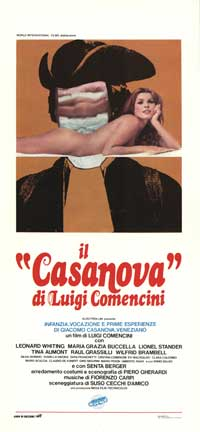 Giacomo Casanova: Childhood and Adolescence - 13 x 28 Movie Poster - Italian Style A