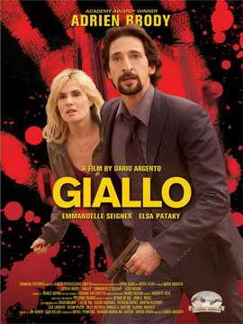 Giallo - 11 x 17 Movie Poster - Style A
