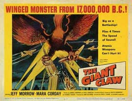 The Giant Claw - 11 x 14 Movie Poster - Style A