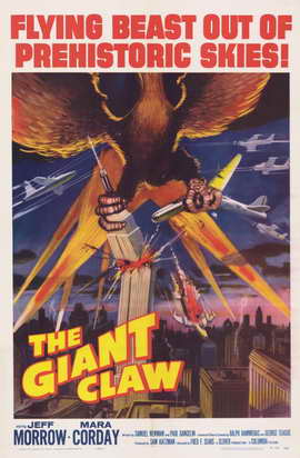 The Giant Claw - 11 x 17 Movie Poster - Style A