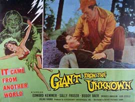 Giant From the Unknown - 11 x 14 Movie Poster - Style A