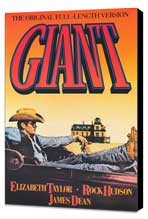 Giant - 27 x 40 Movie Poster - Style A - Museum Wrapped Canvas