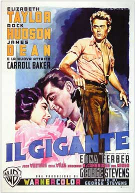 Giant - 11 x 17 Movie Poster - Italian Style A