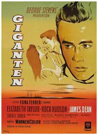 Giant - 27 x 40 Movie Poster - Danish Style A