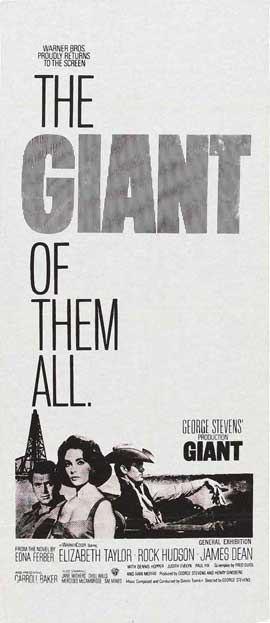 Giant - 13 x 30 Movie Poster - Australian Style A