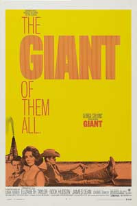 Giant - 43 x 62 Movie Poster - Bus Shelter Style A