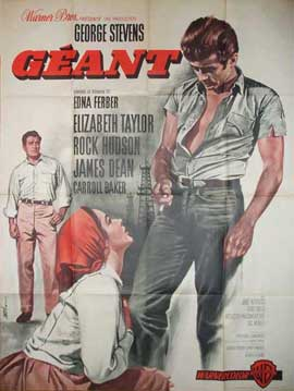 Giant - 11 x 17 Movie Poster - French Style A