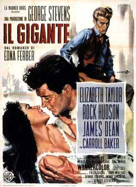 Giant - 11 x 17 Movie Poster - Italian Style E