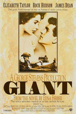 Giant - 11 x 17 Movie Poster - Style E