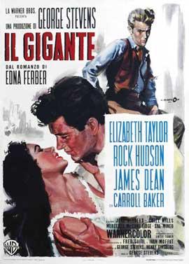 Giant - 11 x 17 Movie Poster - Italian Style C