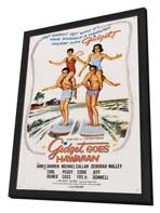 Gidget Goes Hawaiian - 11 x 17 Movie Poster - Style A - in Deluxe Wood Frame