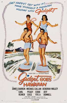 Gidget Goes Hawaiian - 11 x 17 Movie Poster - Style A
