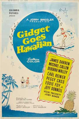 Gidget Goes Hawaiian - 27 x 40 Movie Poster - Style A