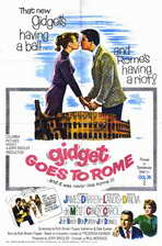 Gidget Goes to Rome - 11 x 17 Movie Poster - Style A
