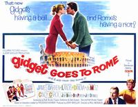 Gidget Goes to Rome - 11 x 14 Movie Poster - Style B