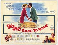 Gidget Goes to Rome - 22 x 28 Movie Poster - Half Sheet Style A