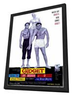 Gidget - 11 x 17 Movie Poster - Style A - in Deluxe Wood Frame