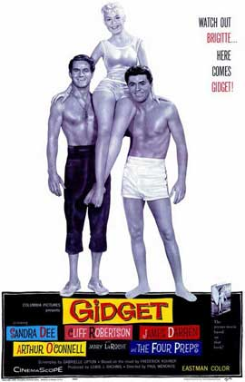 Gidget - 11 x 17 Movie Poster - Style A