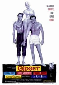 Gidget - 43 x 62 Movie Poster - Bus Shelter Style A