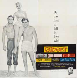 Gidget - 30 x 30 Movie Poster - Style A