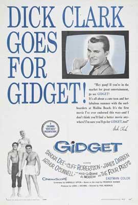 Gidget - 27 x 40 Movie Poster - Style B