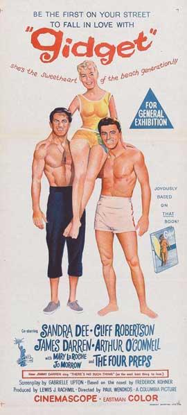 Gidget - 20 x 40 Movie Poster - Australian Style A