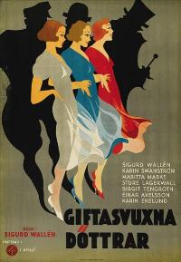 Giftasvuxna d�ttrar - 11 x 17 Movie Poster - Swedish Style A