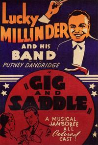 Gig and Saddle - 11 x 17 Movie Poster - Style A