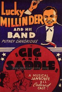 Gig and Saddle - 27 x 40 Movie Poster - Style A