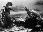 Gigantis - Gigantis The Fire Monster Classic Movie Scene