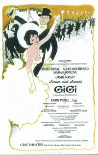Gigi (Broadway) - 11 x 17 Poster - Style B