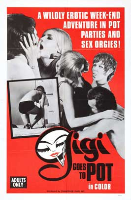 Gigi Goes to Pot - 11 x 17 Movie Poster - Style A