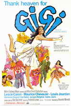 Gigi - 27 x 40 Movie Poster - Style B