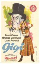 Gigi - 11 x 17 Movie Poster - Spanish Style B