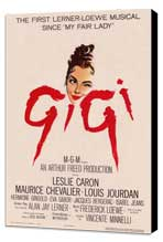 Gigi - 27 x 40 Movie Poster - Style A - Museum Wrapped Canvas