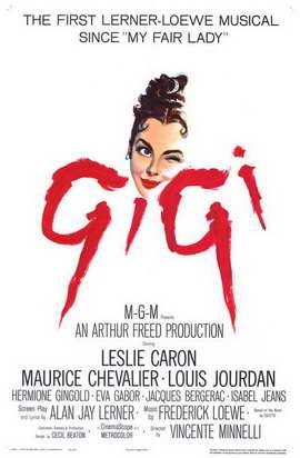 Gigi - 11 x 17 Movie Poster - Style A