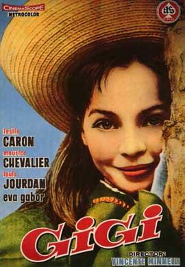 Gigi - 11 x 17 Movie Poster - Spanish Style A